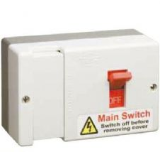 Click DB700 80 Amp Fused Main Switch - Switch Fuse to BS EN 60947 Pt3